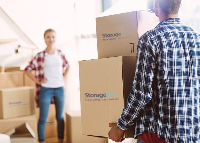 Self Storage Garfield - StorageBlue - Moving Out